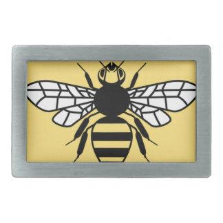 Manchester-Biene Rechteckige Gürtelschnalle