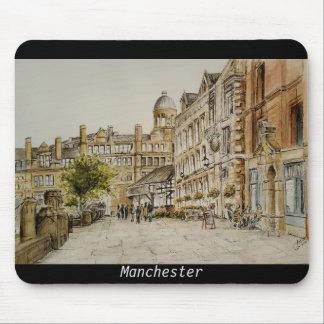 Manchester City zentrieren (Kathedralenbereichs) Mousepad