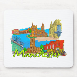 Manchester - England.png Mousepad