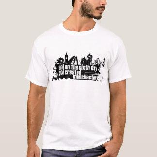 Manchester in der Kontur T-Shirt