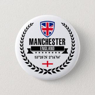Manchester Runder Button 5,7 Cm