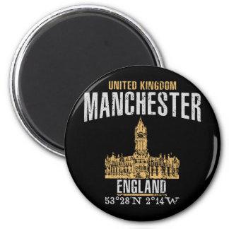 Manchester Runder Magnet 5,1 Cm