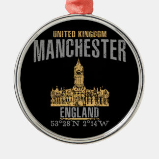Manchester Silbernes Ornament