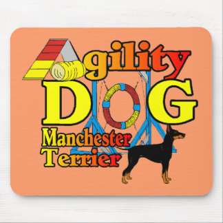 Manchester_Terrier_Agility Mousepad