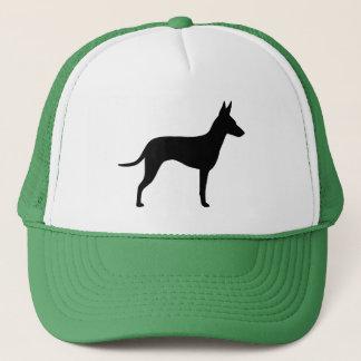 Manchester-Terrier-Silhouette Truckerkappe