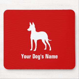 Manchester Terrier (Spielzeug) トイ ・ マンチェスター ・ テリア Mauspad