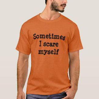 Manchmal erschrecke mich ich Halloween-Shirt T-Shirt
