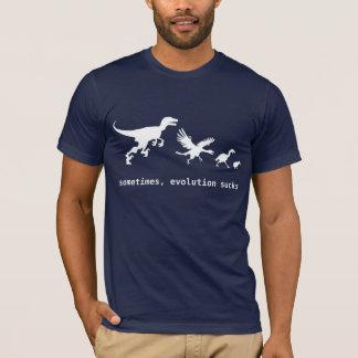 Manchmal Evolution ist zum Kotzen T-Shirt