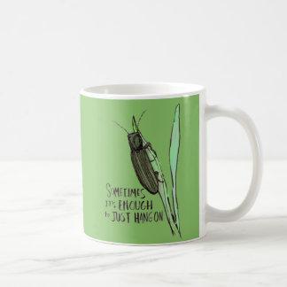 Manchmal ist es genügend grüne Tasse