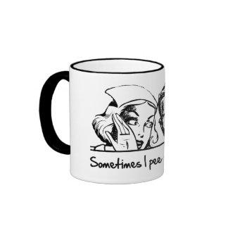 Manchmal pinkele ich, wenn ich lache kaffeetassen