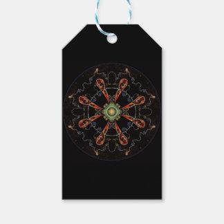 Mandala - 0013 - der Rabe und das Meer und die Geschenkanhänger