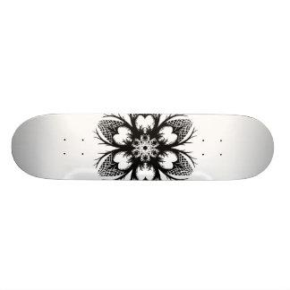 mandala 19,1 cm old school skateboard deck