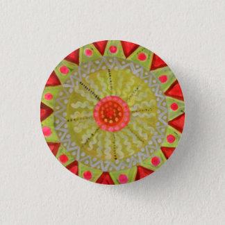 Mandala-Abzeichen Runder Button 3,2 Cm