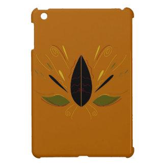 Mandala auf Braun iPad Mini Hülle