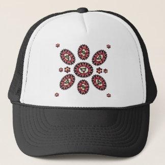 Mandala-Blumen-Muster Truckerkappe