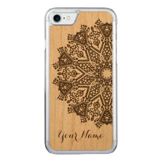 Mandala-Entwurf Carved iPhone 8/7 Hülle