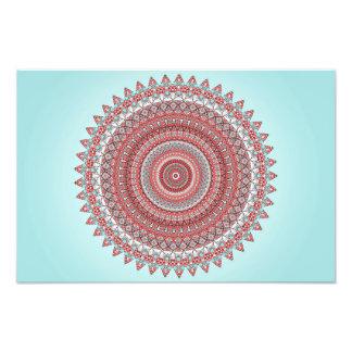 Mandala Fotodruck