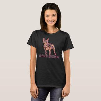 Mandala-französische Bulldoggen-T - Shirt