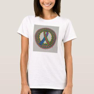Mandala für metastatischen Brustkrebs T-Shirt