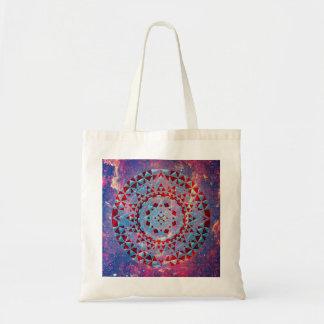 Mandala + Galaxie Tragetasche