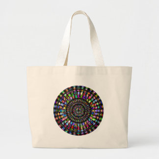 Mandala-Geschenke Jumbo Stoffbeutel