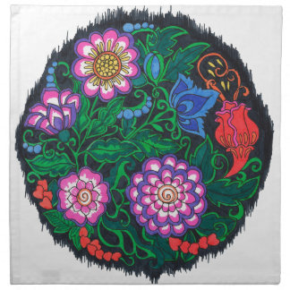 Mandala-Geschenke Stoffserviette