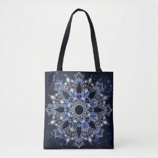 Mandala-Gewohnheit ganz vorbei - drucken Sie Tasche