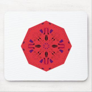 Mandala kreatives ROTES Volksethno. Mousepad