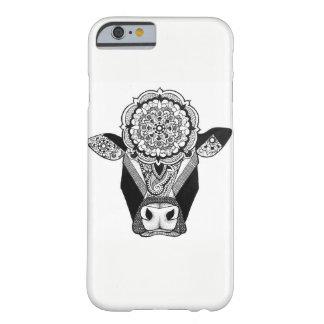 Mandala-Kuh-Telefon-Kasten Barely There iPhone 6 Hülle