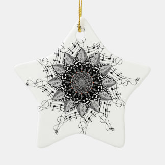 Mandala-Kunst Keramik Ornament