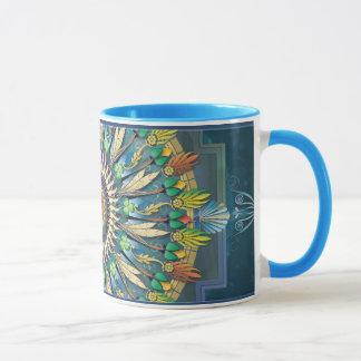 Mandala-Nachtwunsch-Tasse Tasse