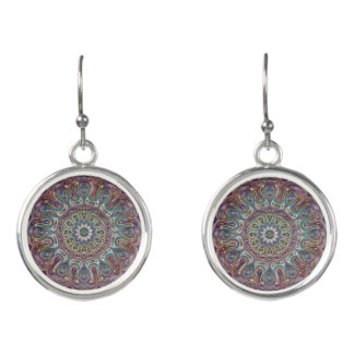 Mandala-Ohrringe Ohrringe