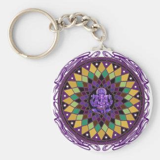 Mandala OM Ganesh Schlüsselanhänger