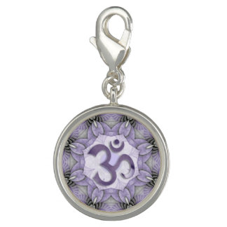 Mandala OM - Veilchen Charm