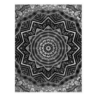 Mandala Postkarte