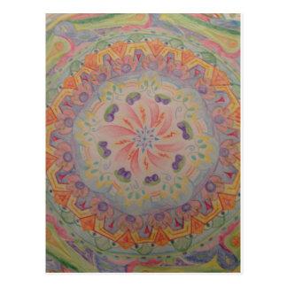 Mandala-Postkarte 1 Postkarte
