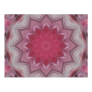 Mandala-Power der Liebe durch Christine Bässler Postkarte