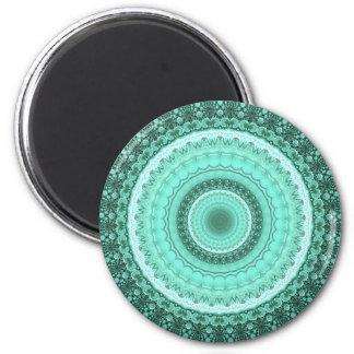 Mandala Runder Magnet 5,1 Cm