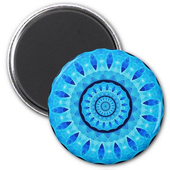 Mandala Runder Magnet 5,7 Cm