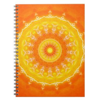 Mandala Spiral Notizblock
