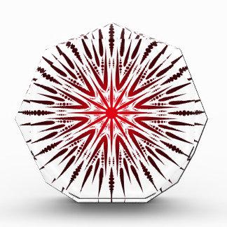 Mandala-Spitze Acryl Auszeichnung