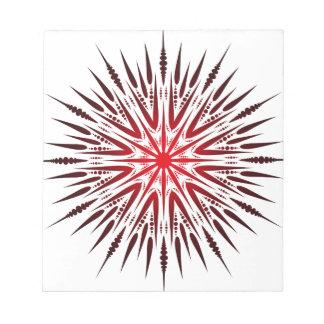 Mandala-Spitze Notizblock