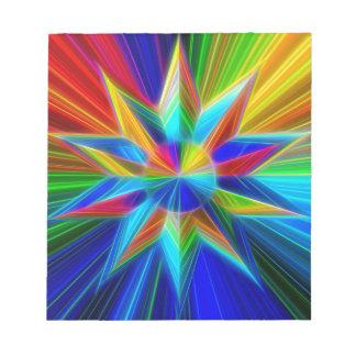 Mandala Stern Notizblock