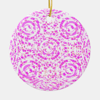 Mandala-Süßigkeit Keramik Ornament