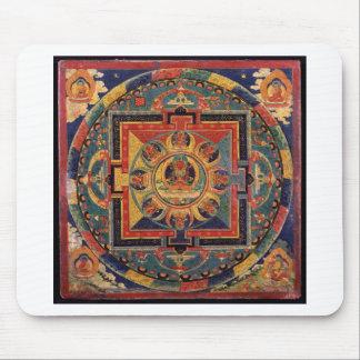 Mandala von Amitayus. Tibetanische Schule des 19. Mousepad