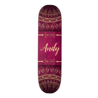 Mandalamuster 18,7 Cm Mini Skateboard Deck