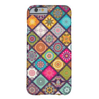 Mandalamuster bunter Marokkaner Barely There iPhone 6 Hülle