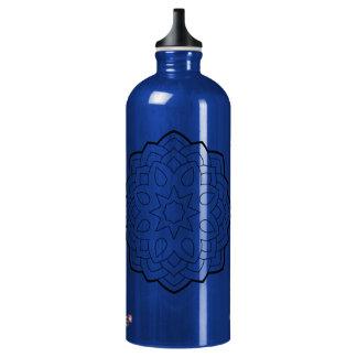 Mandalas Aluminiumwasserflasche