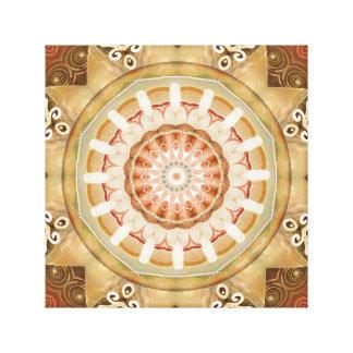 Mandalas des Verzeihens u. gibt die 23 Leinwand Druck