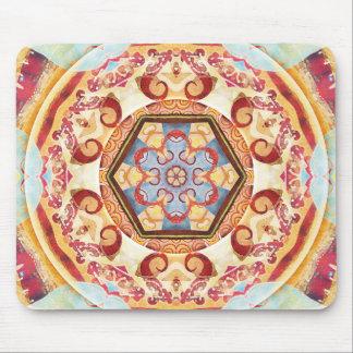 Mandalas für Zeiten der Geschenke des Übergangs-4 Mauspad